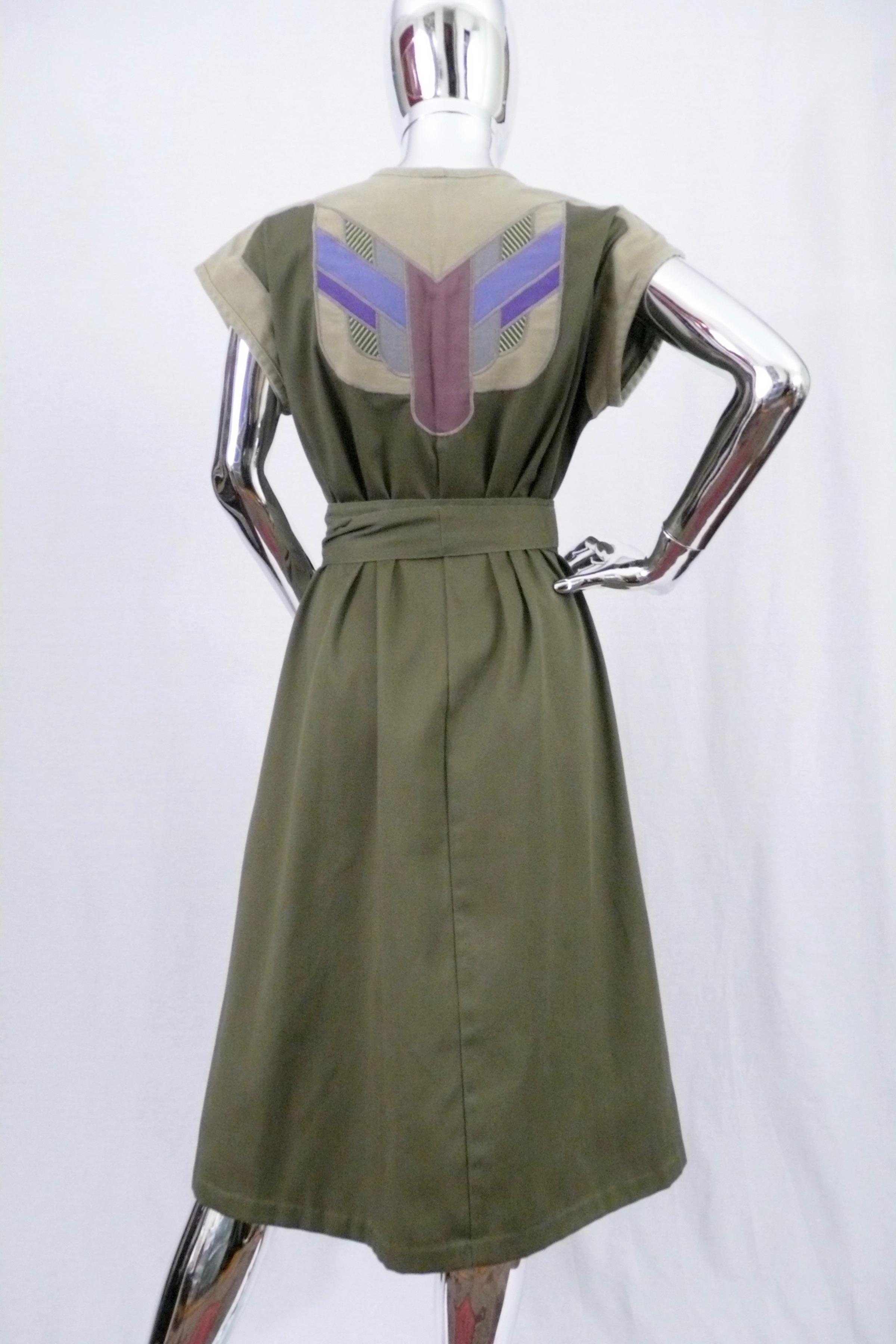 Cotton Applique' Dress