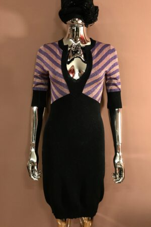 Sonia Rykiel Metallic Knit Dress